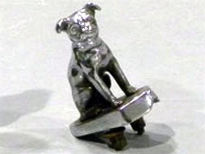 Lot 72-Pug Dog Accessory Mascot