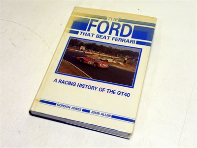 Lot 103-'The Ford That Beat Ferrari'