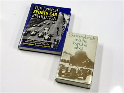 Lot 102-French Racing Books