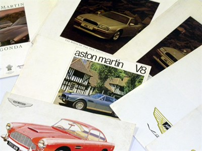 Lot 110-Aston Martin Literature