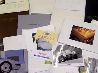 Lot 111-Quantity of British Sales brochures