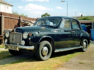 Lot 57 - 1958 Rover P4 105R