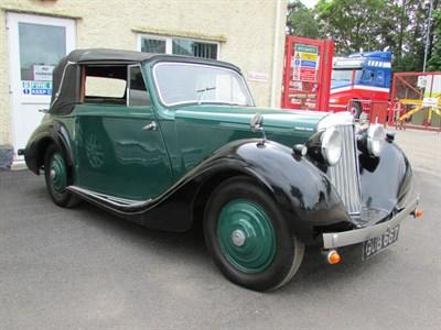 Lot 38 - 1938 Sunbeam-Talbot Ten Drophead Coupe