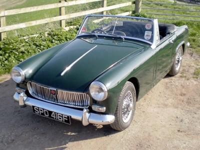 Lot 24 - 1967 MG Midget 1275