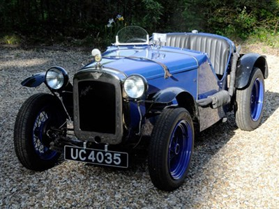 Lot 26 - 1928 Austin Seven Ulster Evocation