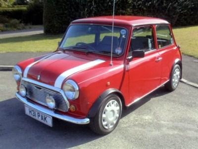 Lot 10 - 1990 Rover Mini Mayfair