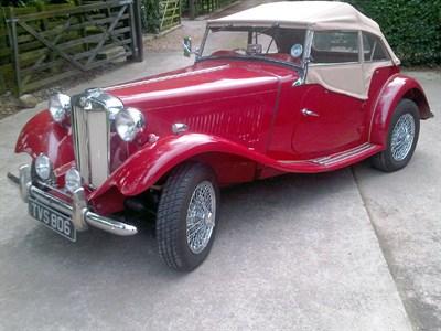 Lot 13 - 1952 MG TD