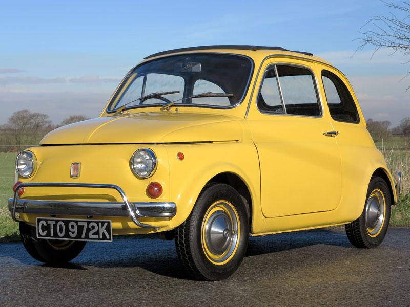 Lot 20-1971 Fiat 500 L