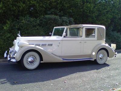 Lot 46 - 1937 Packard Super Eight Bohman & Schwartz Town Car