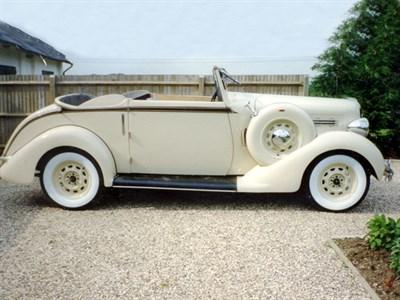 Lot 50 - 1935 Chrysler Series PJ Three-Position Drophead Coupe