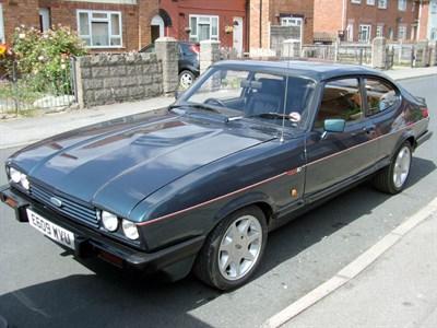 Lot 52 - 1987 Ford Capri 280