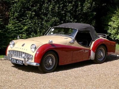 Lot 64 - 1960 Triumph TR3A