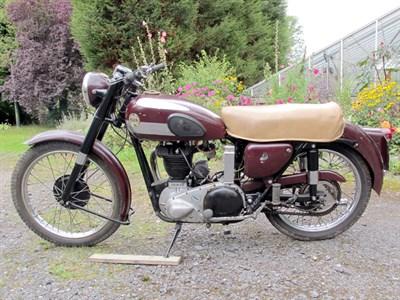 Lot 5 - 1954 Ariel 350
