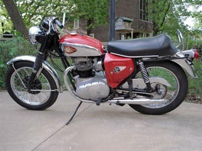 Lot 9 - 1966 BSA A65 Lightning