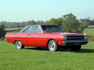 Lot 62 - 1969 Dodge Dart Custom Hardtop