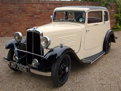 Lot 14 - 1934 BSA 10hp Coupe