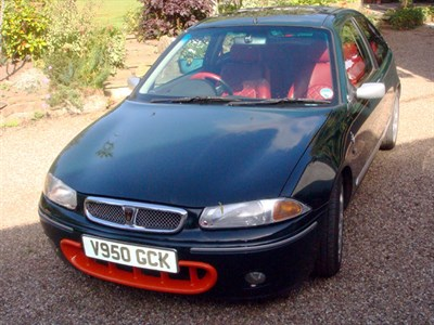 Lot 17 - 1999 Rover 200 BRM