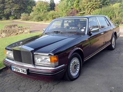 Lot 65 - 1996 Rolls-Royce Silver Spur