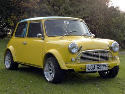 Lot 80 - 1982 Austin Mini Competition / Show Car