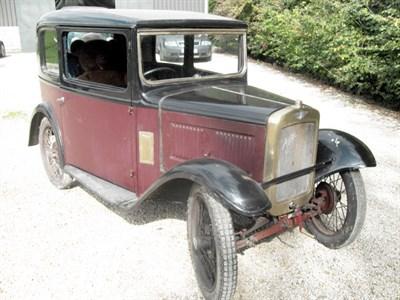 Lot 20 - 1934 Austin Seven Box Saloon