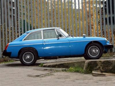 Lot 18 - 1980 MG B GT