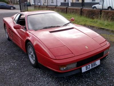 Lot 13 - 1987 Ferrari Testarossa