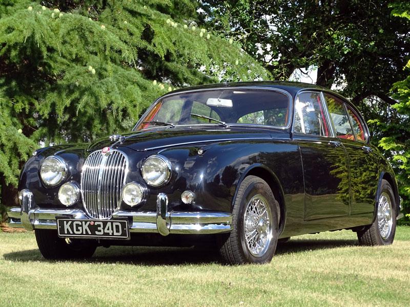 Lot 14-1966 Jaguar MK II