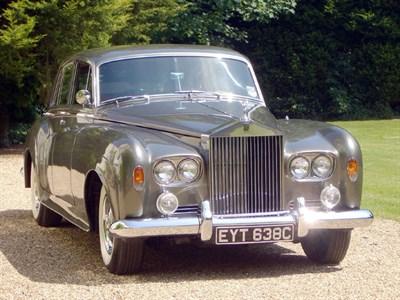 Lot 33 - 1965 Rolls-Royce Silver Cloud III