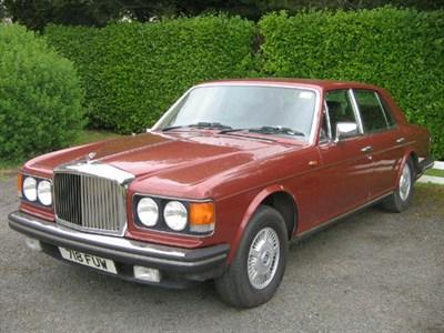 Lot 76 - 1980 Bentley Mulsanne