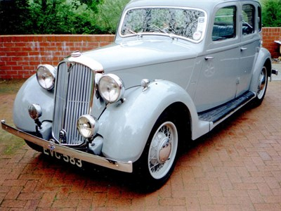 Lot 78 - 1940 Rover 10hp Saloon