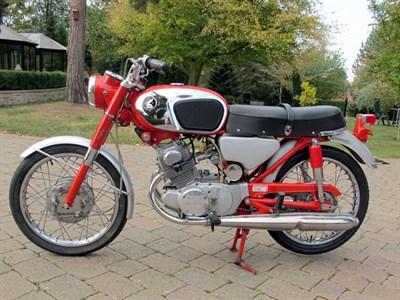 Lot 18 - 1965 Honda CB160