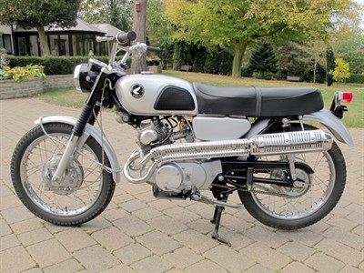 Lot 22 - 1966 Honda CL160