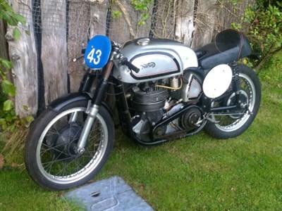Lot 19-1954 Norton Manx 40M