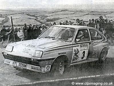 Lot 36 - 1981 Vauxhall Chevette HSR Works Rally Car