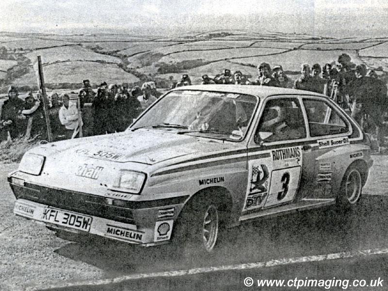 lot 36 1981 vauxhall chevette hsr works rally car 1981 vauxhall chevette hsr works rally car