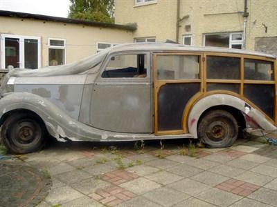 Lot 2 - 1948 Rolls-Royce Silver Wraith Estate