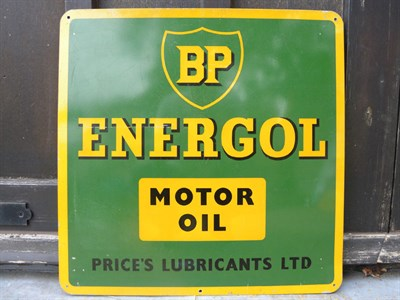 Lot 30 - BP Energol Advertising Sign