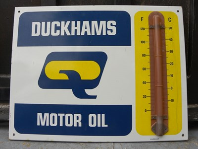 Lot 37 - Duckhams Motoroil Thermometer