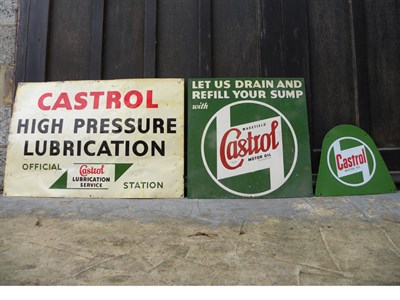 Lot 47 - Castrol Ephemera