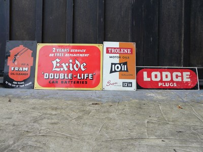 Lot 52 - Four Advertising Signs
