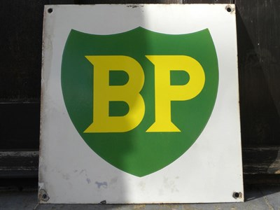 Lot 62 - BP Enamel Sign