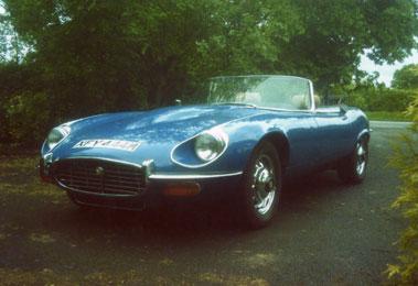 Lot 38-1973 Jaguar E-Type V12 Roadster
