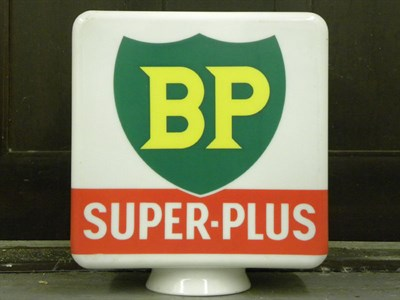 Lot 77 - BP 'Super-Plus' Petrol Pump Globe