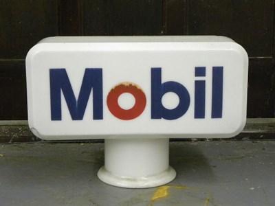 Lot 78-Mobil Petrol Pump Globe