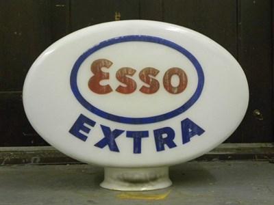 Lot 83-Esso Extra Petrol Pump Globe