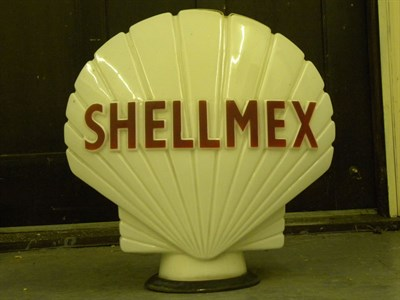 Lot 84 - 'Shellmex' Petrol Pump Globe