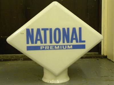 Lot 85 - 'National Premium' Petrol Pump Globe