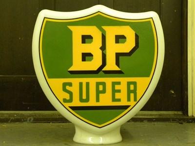Lot 86-BP 'Super' Petrol Pump Globe
