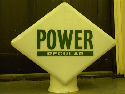 Lot 88 - Power Regular Petrol Pump Globe