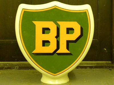 Lot 89 - BP Shield Petrol Pump Globe